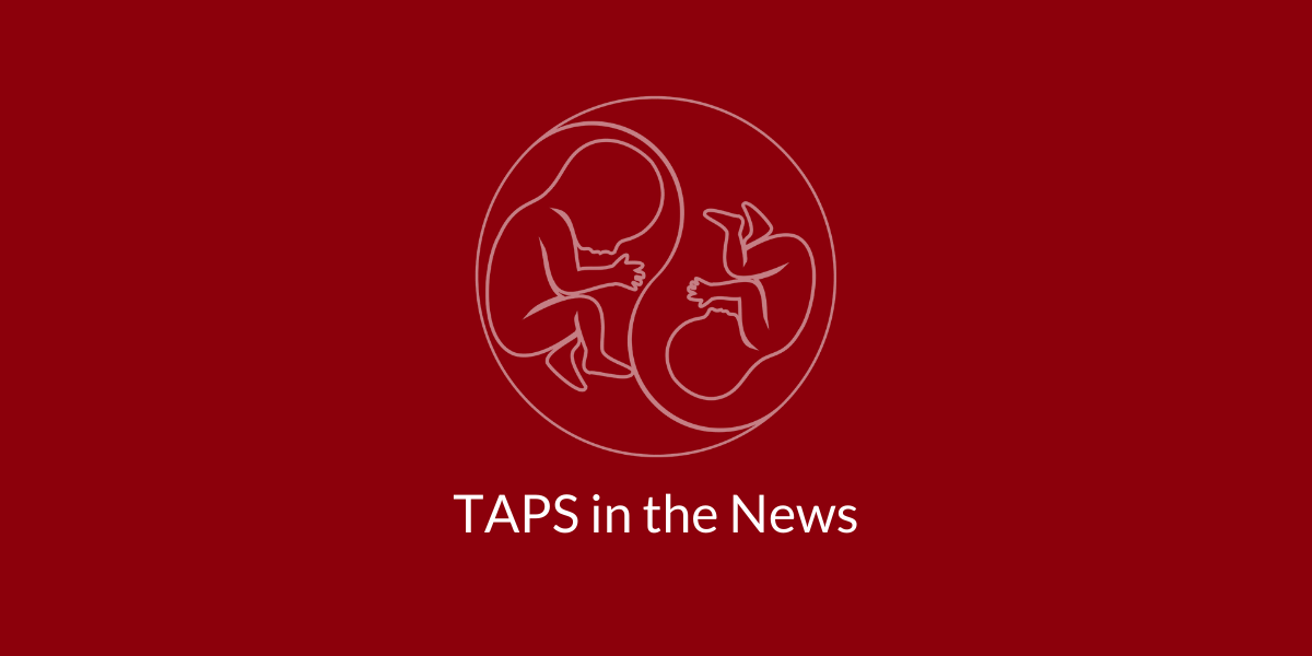 taps in the news taps support