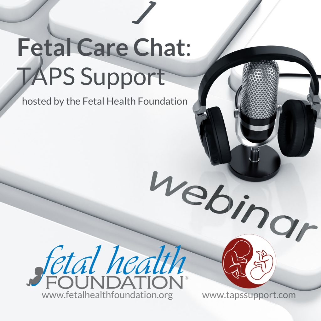 fetal health foundation taps support webinar twin anemia polycythemia sequence